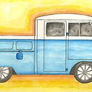 1959 vw pick-up With doube cab by RootRock