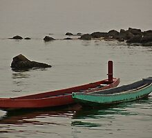 Fishing Boats by anandmukati