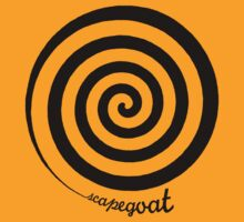 Scapegoat - Black Graphic, Funny by Ron Marton
