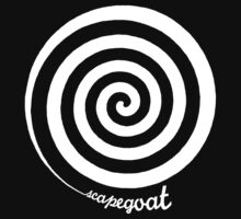 Scapegoat - White Graphic by Ron Marton