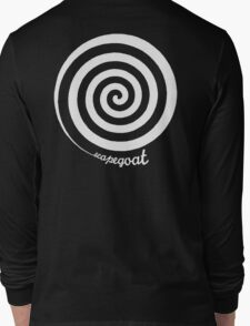 Scapegoat - White Graphic Long Sleeve T-Shirt