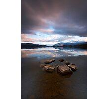 Lakeside Stone Circle Photographic Print
