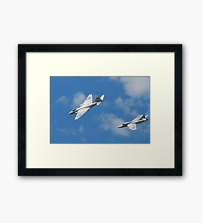 Cold War Jets Framed Print