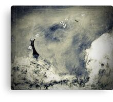 dis-carded Canvas Print