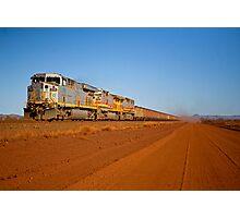 Pilbara Iron Ore Train Photographic Print