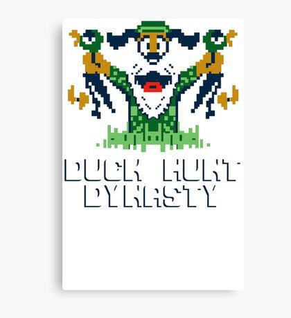 Duck Hunt Dynasty Funny T-Shirt & Hoodies Canvas Print