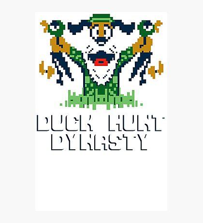 Duck Hunt Dynasty Funny T-Shirt & Hoodies Photographic Print