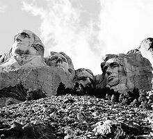 Mount Rushmore Heads by Blake  Hyland