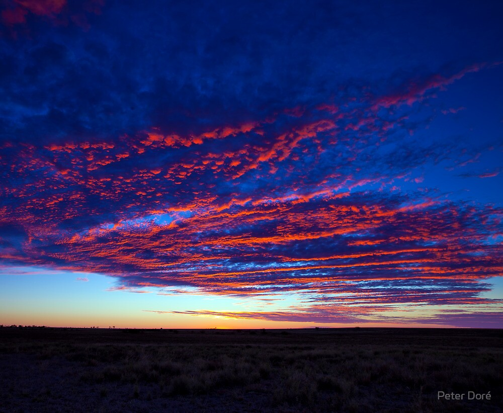 Outback Sunrise 1 by Peter Doré