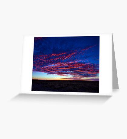 Outback Sunrise 1 Greeting Card