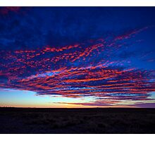 Outback Sunrise 1 Photographic Print
