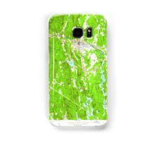 Massachusetts  USGS Historical Topo Map MA Orange 350422 1961 24000 Samsung Galaxy Case/Skin
