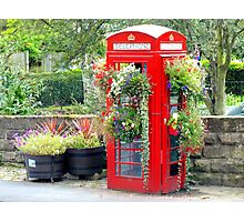 Telephone Box - Spofforth - North Yorkshire Photographic Print