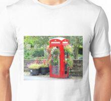 Telephone Box - Spofforth - North Yorkshire Unisex T-Shirt