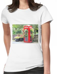 Telephone Box - Spofforth - North Yorkshire Womens Fitted T-Shirt