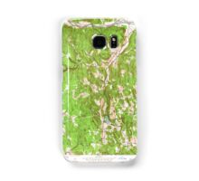 Massachusetts  USGS Historical Topo Map MA Ashfield 349953 1955 24000 Samsung Galaxy Case/Skin