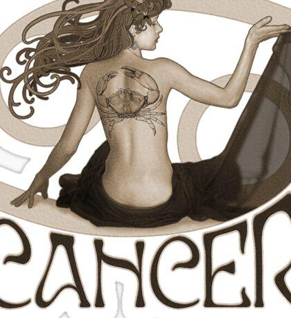 Cancer t-shirt Sticker