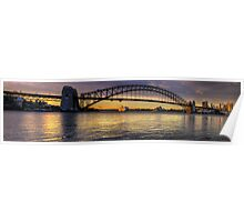 Point To Point - Sydney Harbour, Sydney - The HDR Experience Poster