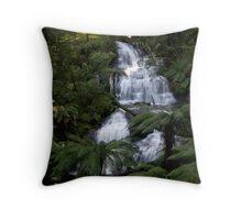Triplet Falls, Otways, Victoria Throw Pillow