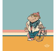 Biking is a way of life Photographic Print