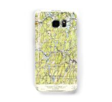 Massachusetts  USGS Historical Topo Map MA Brookfield 352548 1921 62500 Samsung Galaxy Case/Skin
