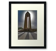 In the Shadow of the Tomb of Avicenna (Ibn Sīnā) - Hamadan - Iran Framed Print