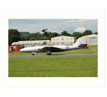 Canberra bomber jet Art Print