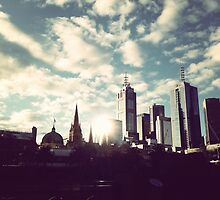 southbank melbourne by Mimi Huang