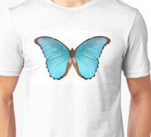 Butterfly species Morpho menelaus alexandrovna Unisex T-Shirt