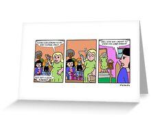 Mama, Don't Preach! Greeting Card