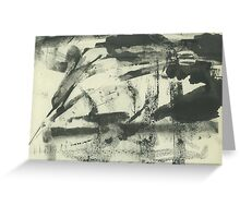 abstract summer landscape 25 Greeting Card