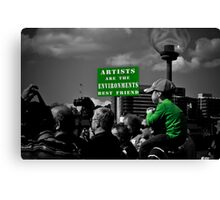 For The Next Generation Canvas Print