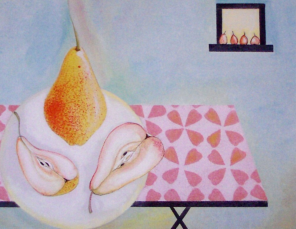 Ripening pears by sue mochrie