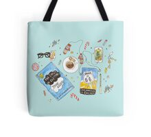 Messy desk Tote Bag