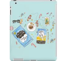 Messy desk iPad Case/Skin
