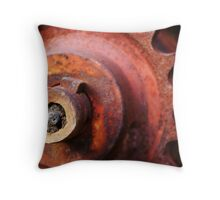 Cog-wheel Throw Pillow