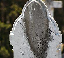 Behind the Gravestone by v-something