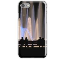 Fountains and Silhouettes iPhone Case/Skin