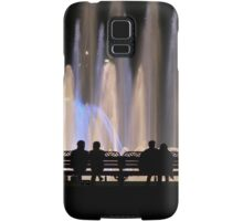 Fountains and Silhouettes Samsung Galaxy Case/Skin