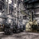 Machinery Shed - Cockatoo Island by Jeff Catford