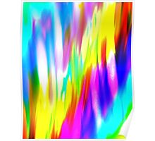Abstract colorful light Poster