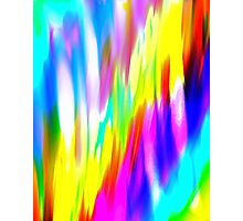 Abstract colorful light Photographic Print
