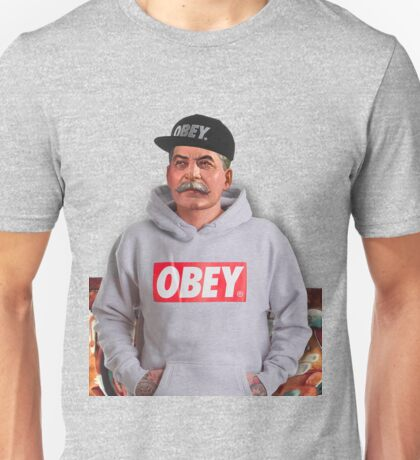 OBEY STALIN Unisex T-Shirt