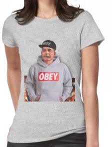 OBEY STALIN Womens Fitted T-Shirt