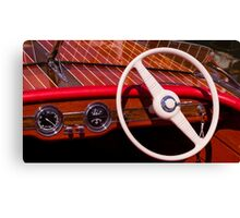 Runabout Canvas Print