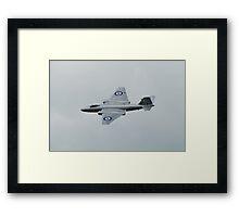 Canberra bomber jet Framed Print