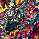 Music and The rainbow colors by Nuni Ed