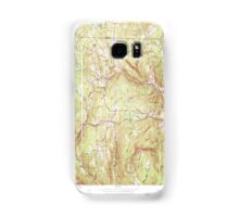 Massachusetts  USGS Historical Topo Map MA Heath 350207 1961 24000 Samsung Galaxy Case/Skin