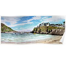 """""""Chaff Cove # 2"""" -  Port Isaac, Cornwall Poster"""