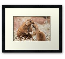 Mum I love you Framed Print